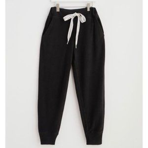 Aerie Dreamy Soft Inside Out Jogger Black LG